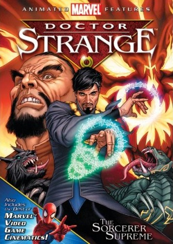 Doctor Strange / ดร. สเตรนจ์ ฮีโร่พลังเวทย์ / 1 แผ่น DVD (พากย์ไทย+บรรยายไทย)