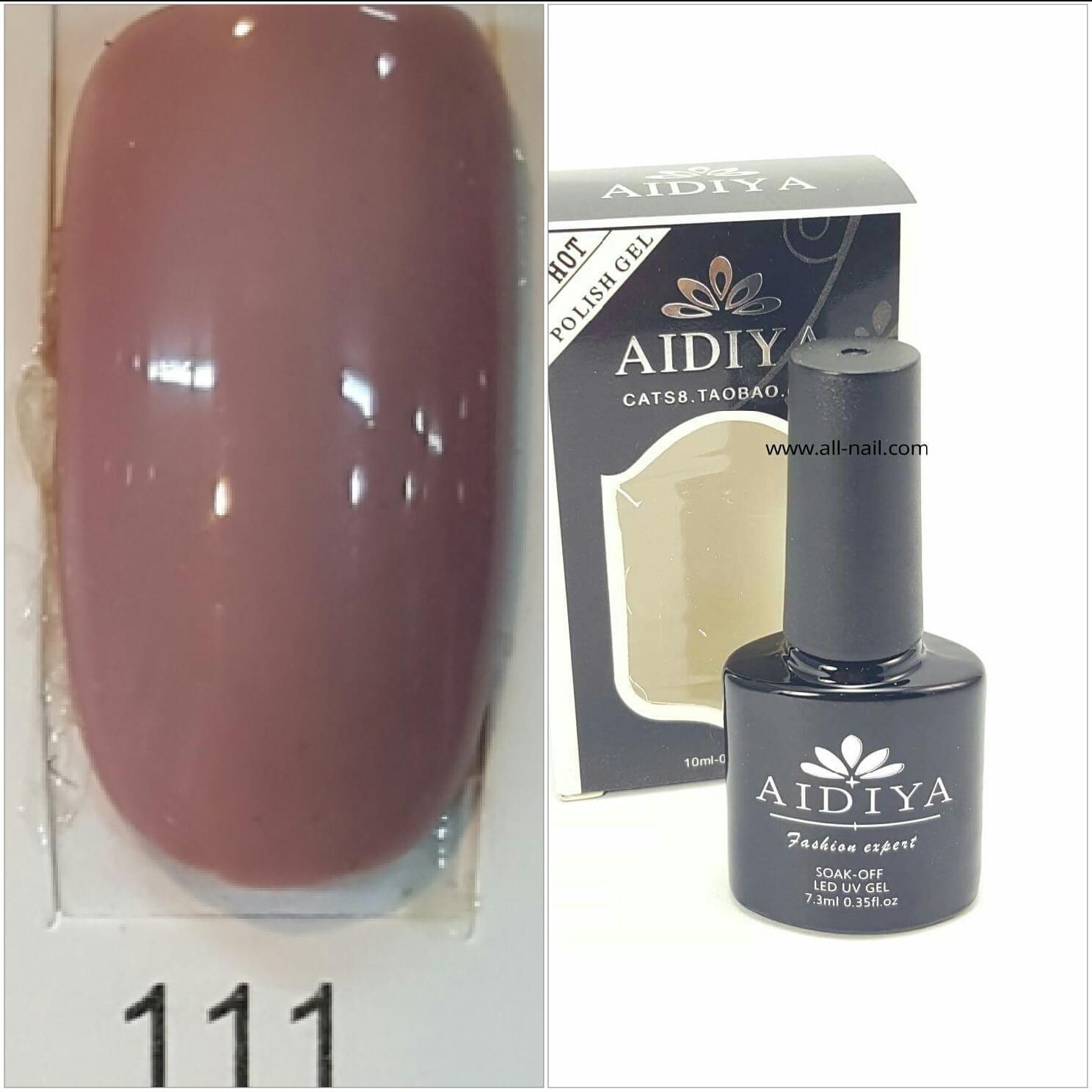 สีเจลทาเล็บ AIDIYA #111
