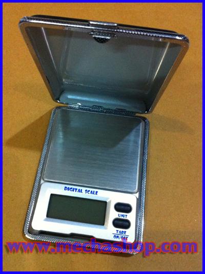 เครื่องชั่งดิจิตอลพกพา เครื่องชั่งพกพา Pocket Scale 100gความละเอียด0.01g (ฝาพับหนังสีดำ ขนาดพกพา ราคาพิเศษ)