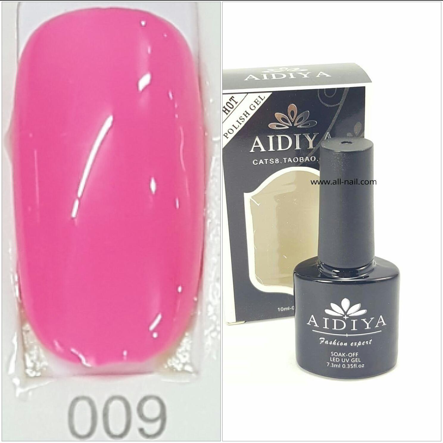 สีเจลทาเล็บ AIDIYA #009