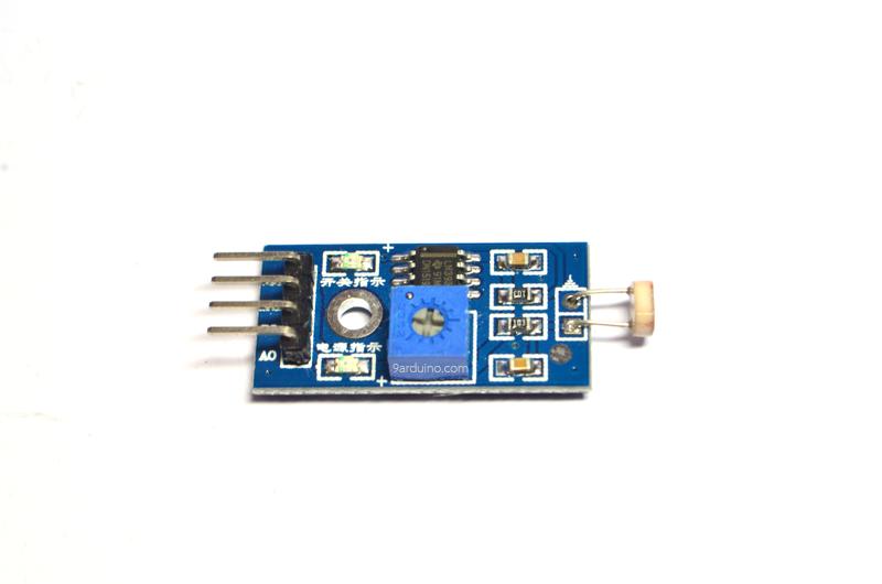 LDR Photoresistor Sensor วัดแสง แบบ Analog และ Digital