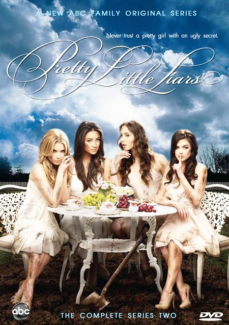 Pretty Little Liars Season 2 / สวยแสบแอบซ่อนร้าย ปี 2 / 6 แผ่น DVD (บรรยายไทย)