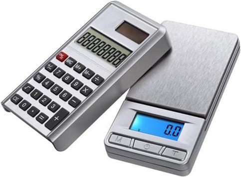 เครื่องชั่งดิจิตอล เครื่องคิดเลข เครื่องชั่งแบบพกพา Pocket Scale 100g/0.01 Grade B