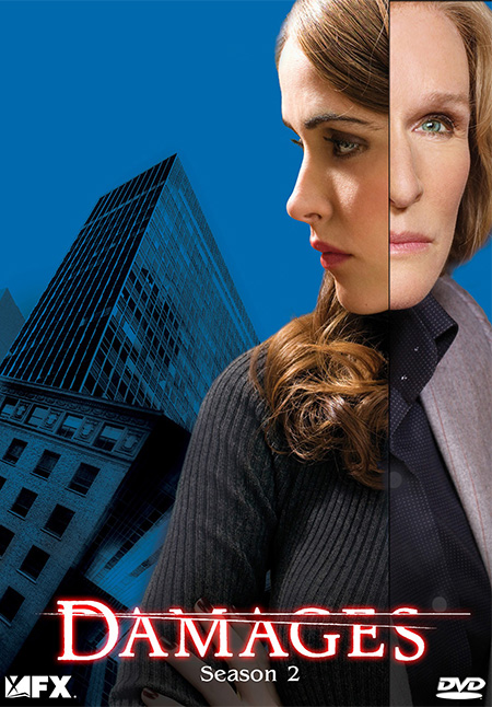 Damages Season 2 / แดมเมจส์ เดิมพันยุติธรรม ปี 2 / 3 แผ่น DVD (บรรยายไทย)