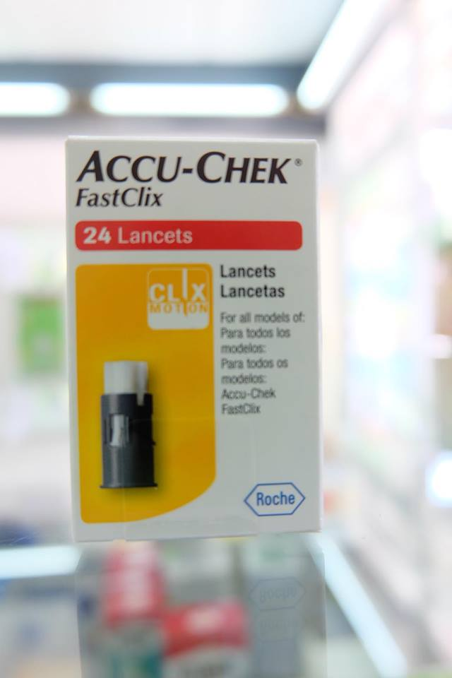 ACCU-CHEK FASTCLIX 24'S เข็มของรุ่น GUIDE