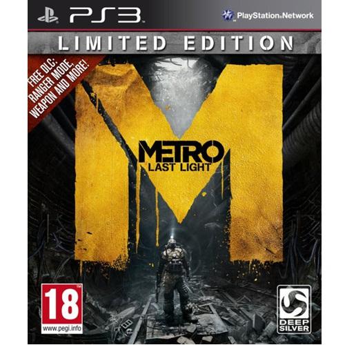 PS3: Metro Last Light Limited Edition (Z3) [ส่งฟรี EMS]