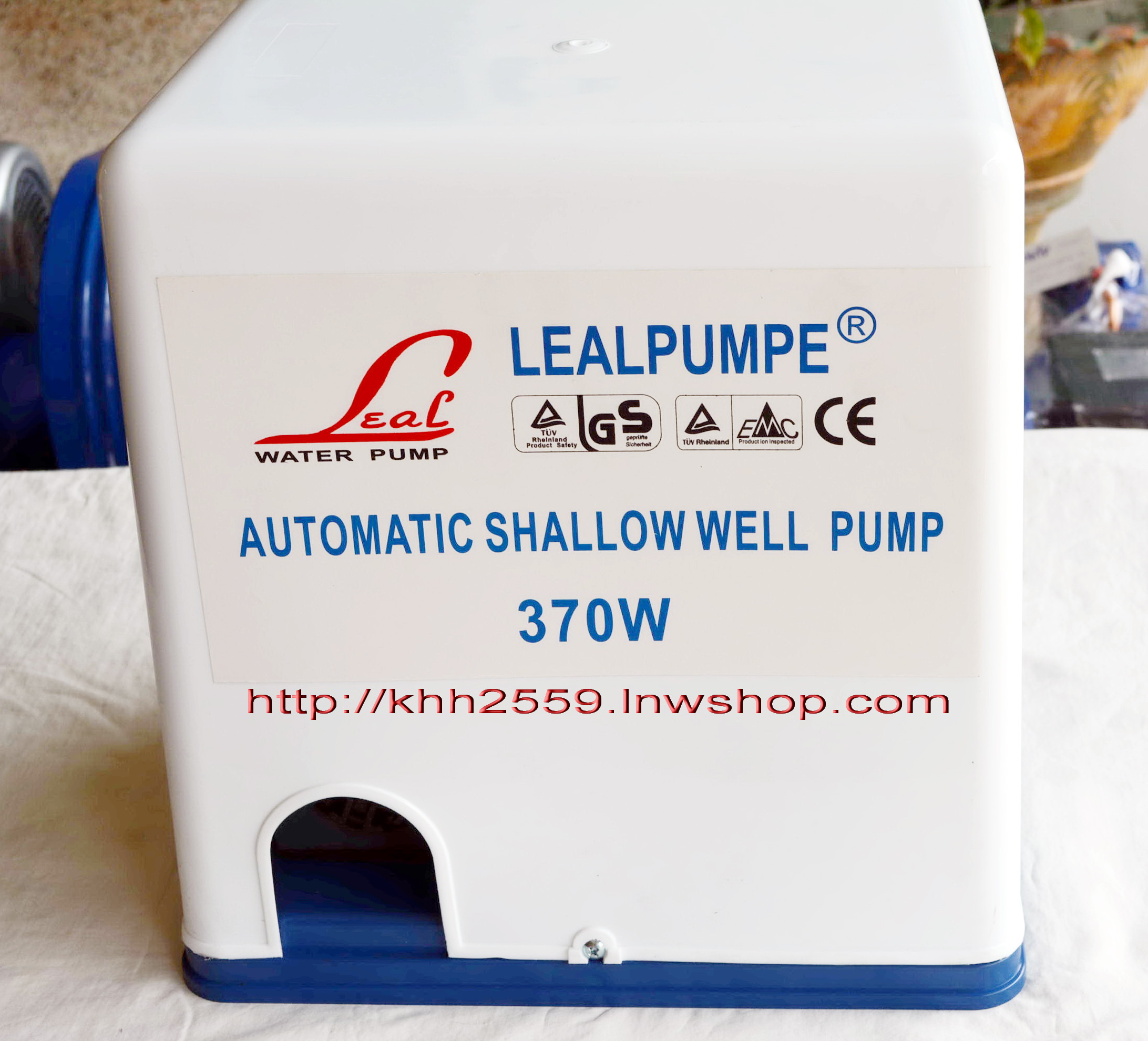 ปั๊มน้ำออโต้ อัตโนมัติ 370 วัตต์ LEAL รุ่น LGA370
