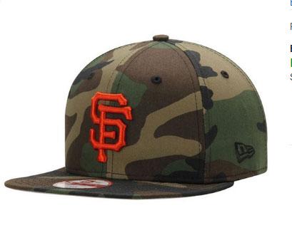 หมวก New Era ทีม San Francisco Giants ลาย Camo รุ่น 9Fifty (Snapback)
