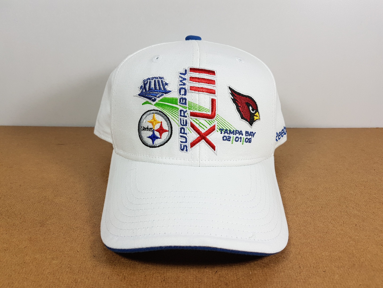 Reebok NFL Super Bowl 2009 XLII ฟรีไซส์ ตีนตุ๊กแก 57-59.6cm