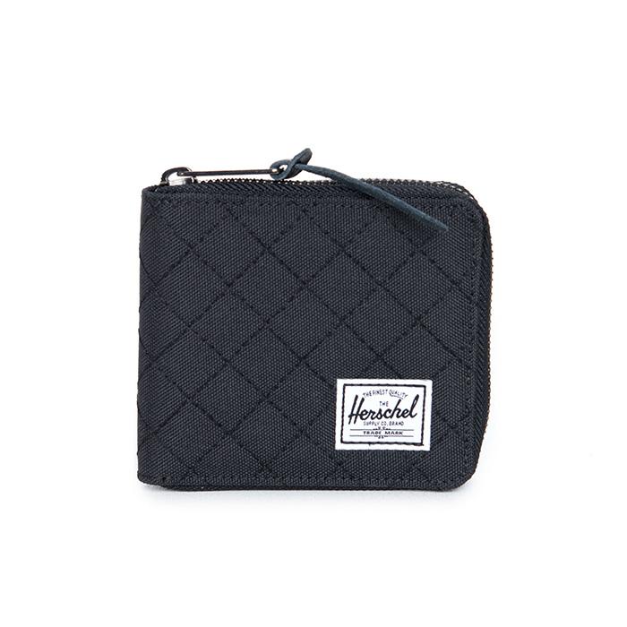Herschel Walt Wallet - Quilted Black
