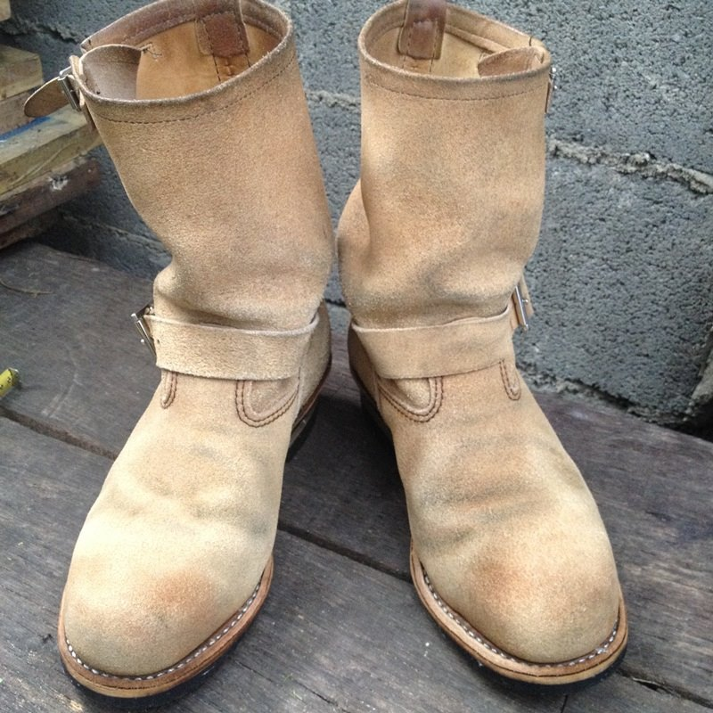 *6RED WING 8268 ENGINEER BOOTS 2 BUCKLE*