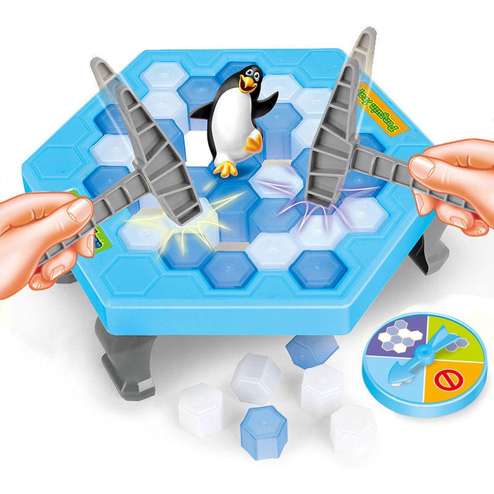 Baby Touch ของเล่นเด็ก เกมเสริมพัฒนาการเด็ก เพนกวิ้นตกน้ำแข็ง (TGA)