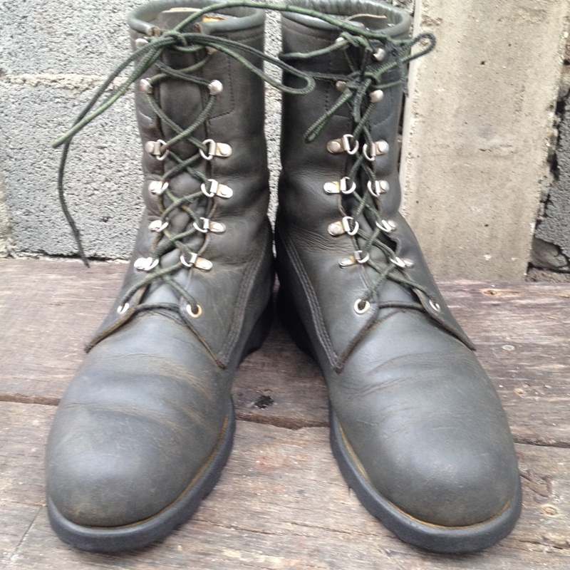 Vintage Browning hunting work boot made in usa size 8.5