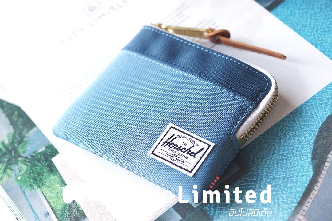 กระเป๋าสตางค์ Herschel Johnny Wallet - Captain's Blue / Navy