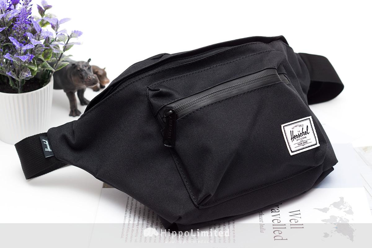Herschel Seventeen Hip Pack - Black/Black