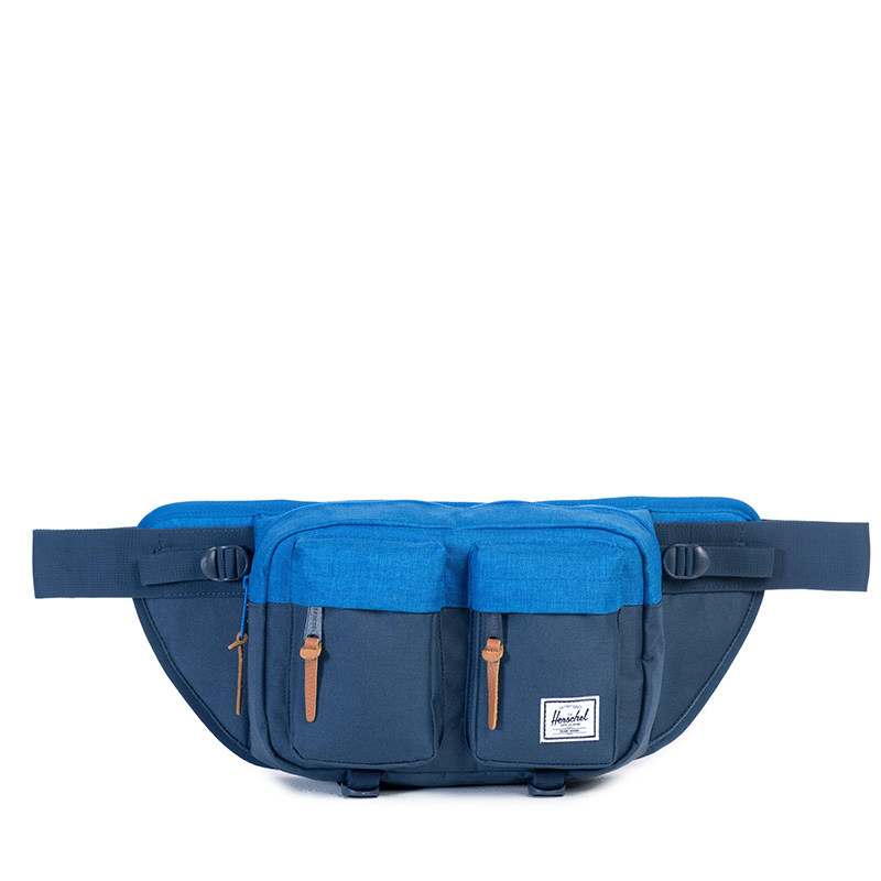 Herschel Eighteen Hip Pack - Navy/Cobalt Crosshatch