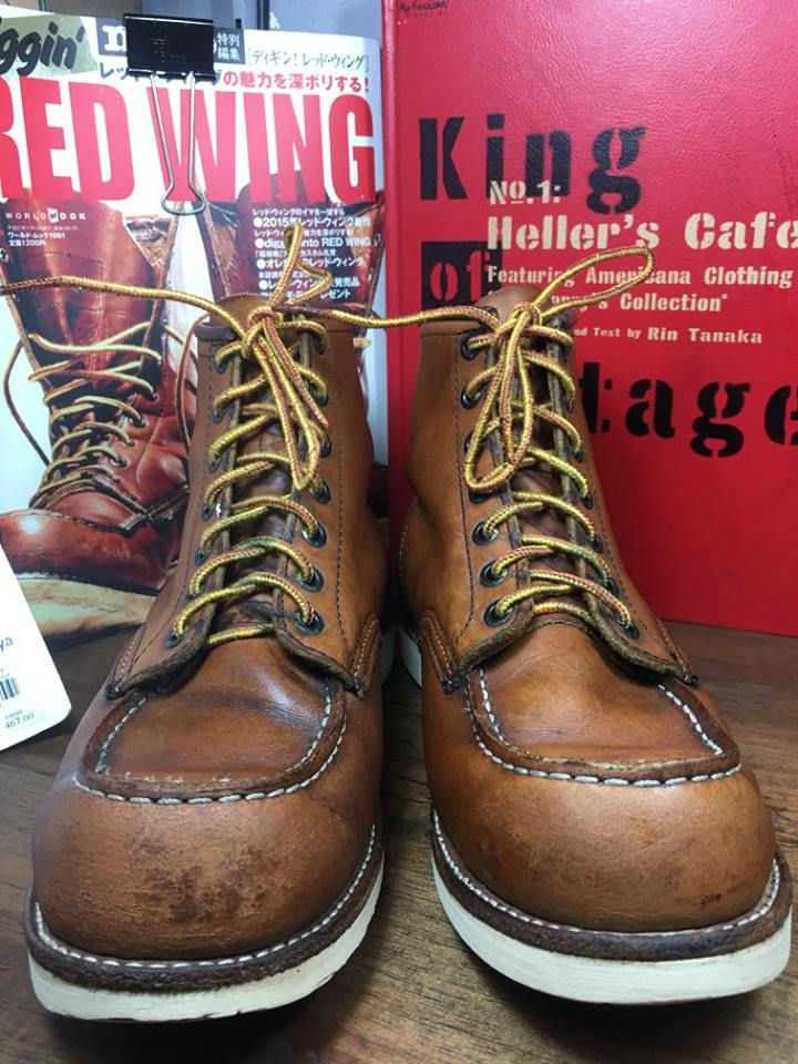.RED WING 875 size 7.5.E