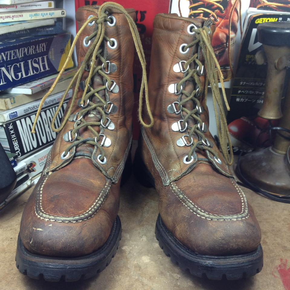 Vintage boots made in USA ยุค 79 size 10D