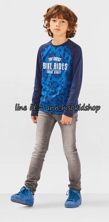 1760 Blue Ridge Skinny Jeans - Black ขนาด 140,146,152,158,164