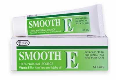 Smooth E Cream 40g.natural source