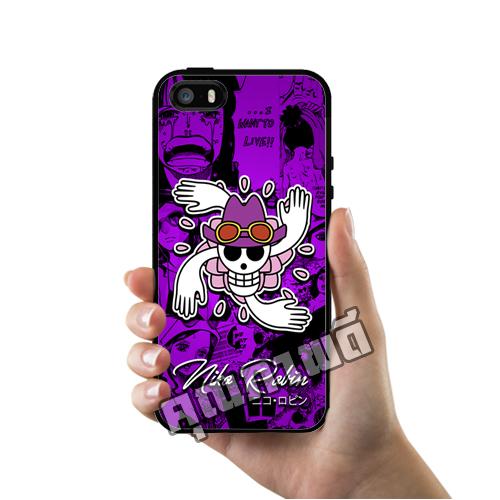 เคสไอโฟน 5 5s SE นิโค โรบิ้น โลโก้โจรสลัด One Piece เคสโทรศัพท์ Apple iPhone #1422