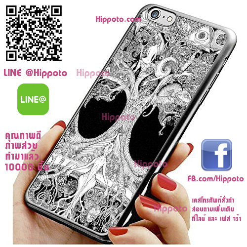 เคส ไอโฟน 6 / เคส ไอโฟน 6s ต้นไม้แห่งชีวิต ศิลปะ เคสสวย เคสโทรศัพท์ #1324