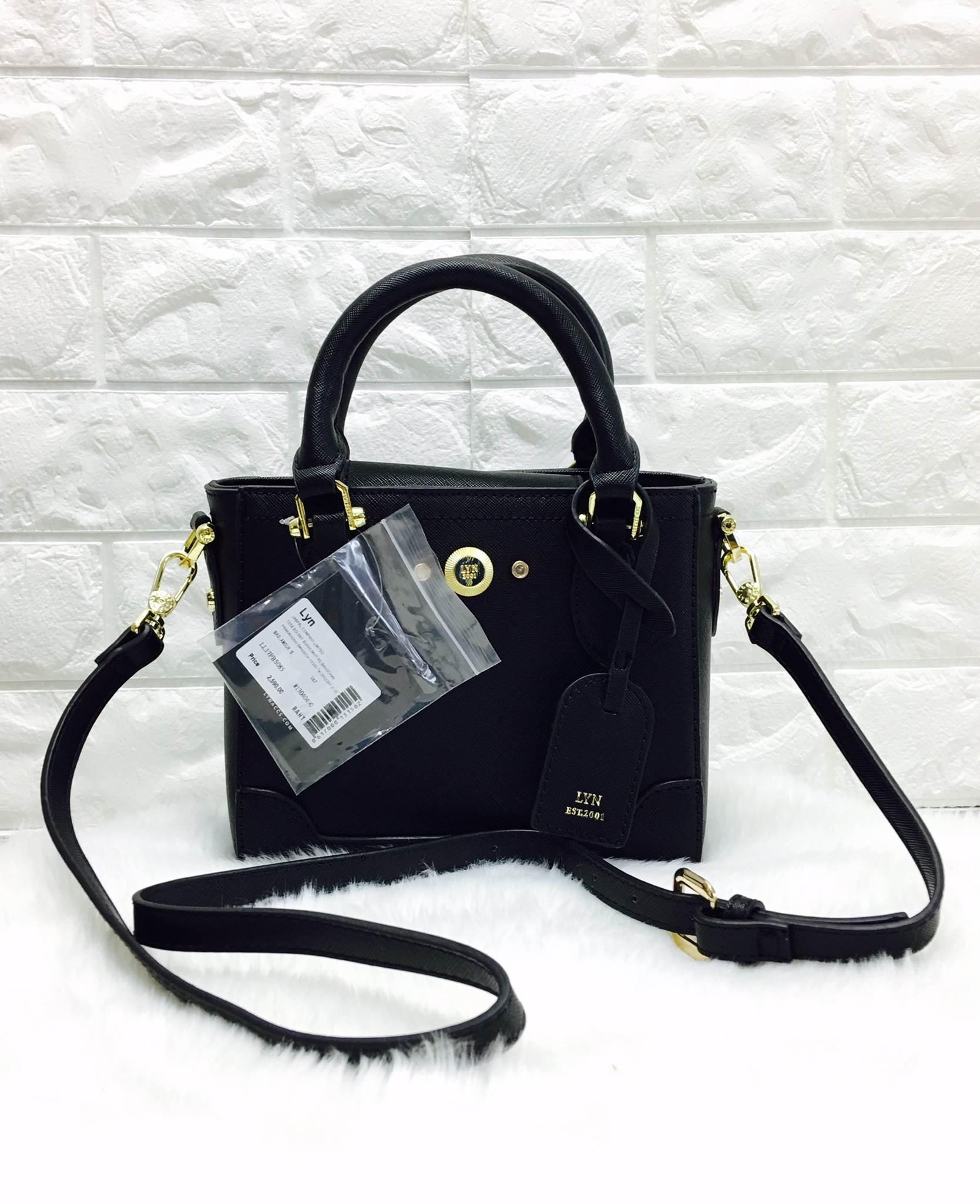 LYN PULINE XS BAG *สีดำ