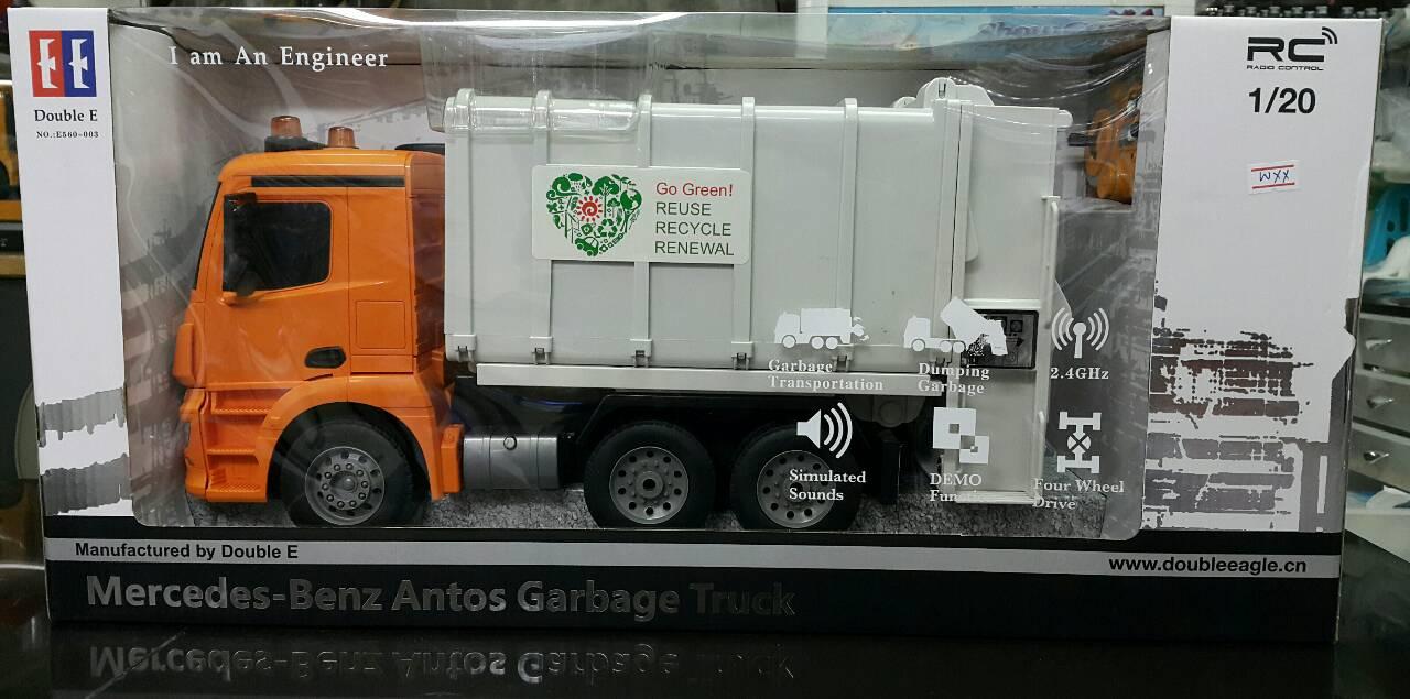 มี1 รอยืนยันก่อนโอน 1/20 mercedes-benz antos garbage truck (EE)