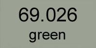 mecha vallejo 69. 026 green 17 ml.