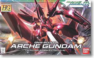 hg 1/144 43 GNW-20000 Arche Gundam 1600yen