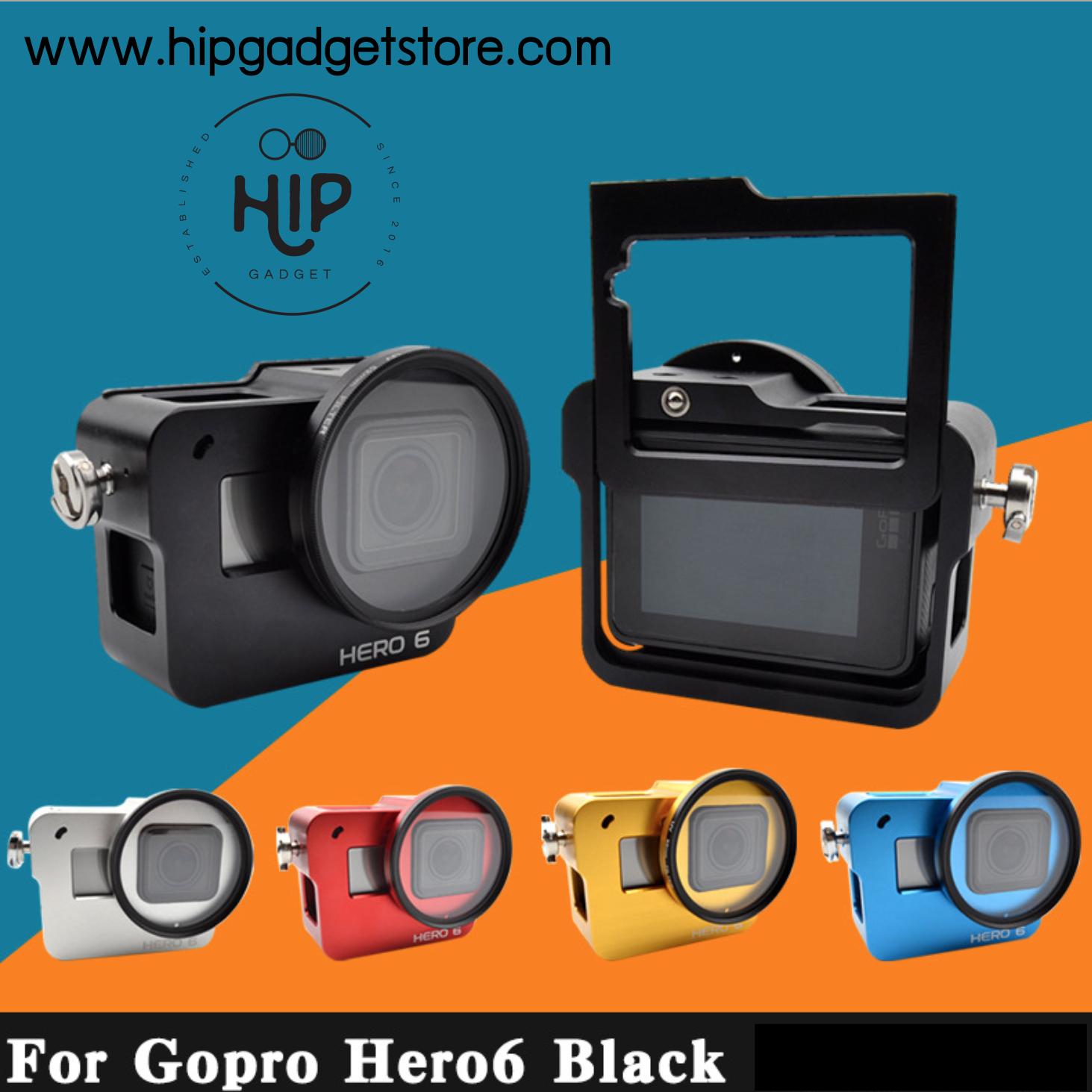 Gopro 6 case aluminium (สกรีน Hero6)