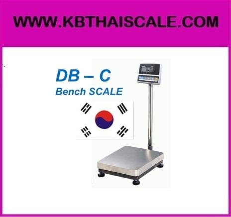 ตาชั่งดิจิตอล เครื่องชั่งดิจิตอล เครื่องชั่งตั้งพื้น 150kg ความละเอียด20g CAS DB-C-150K แท่นขนาด30x40cm.