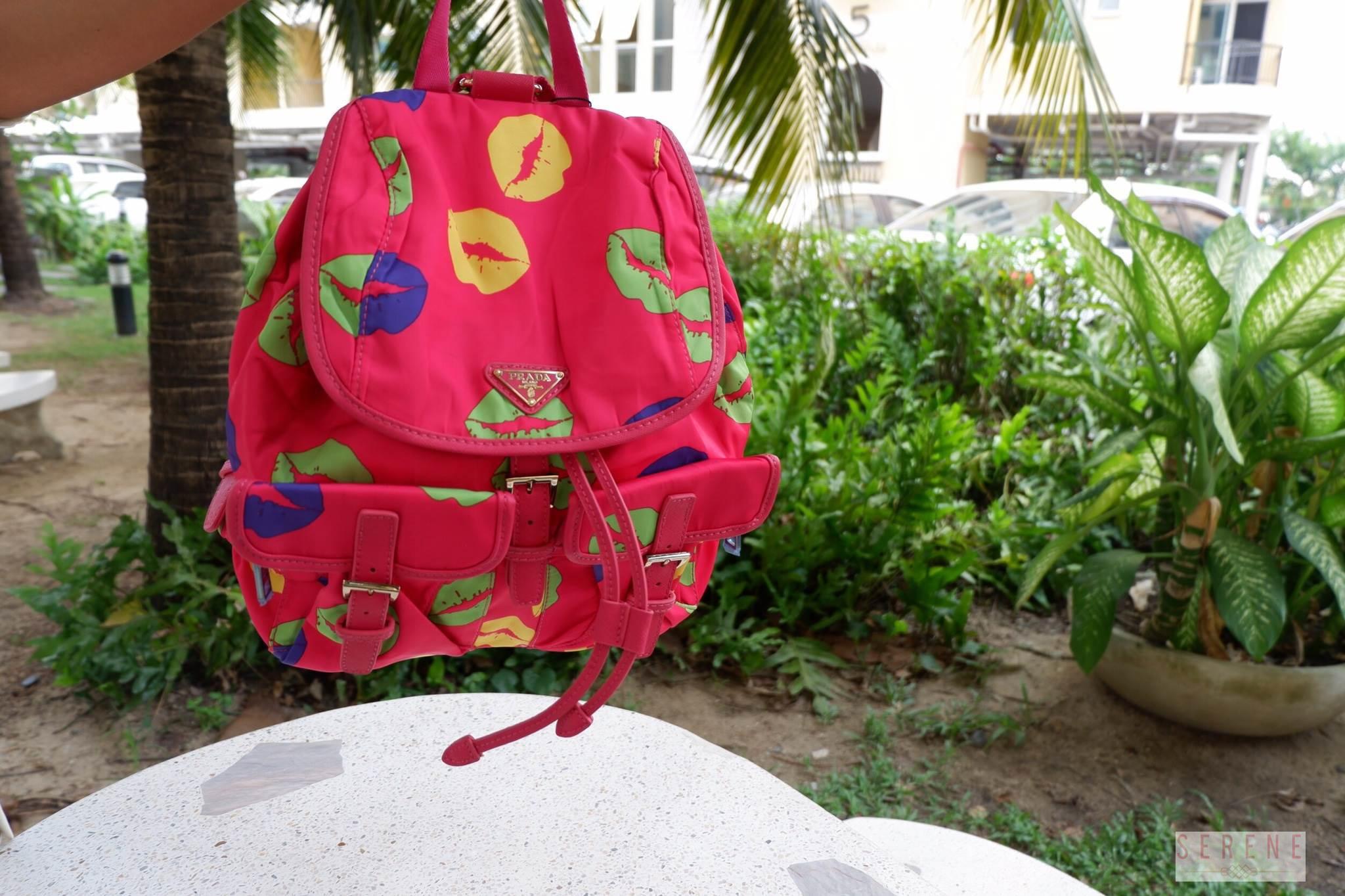 กระเป๋าเป้ PRADA รุ่น limited edetion