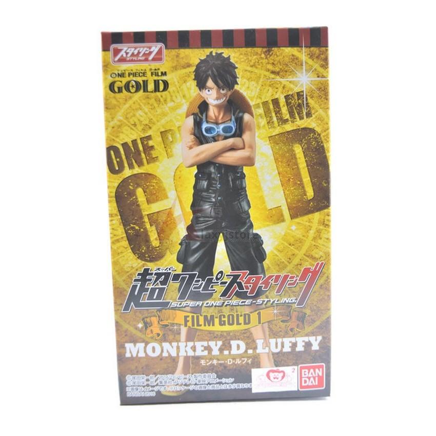 Bandai Onepiece Flim Gold Stying -LUFFY