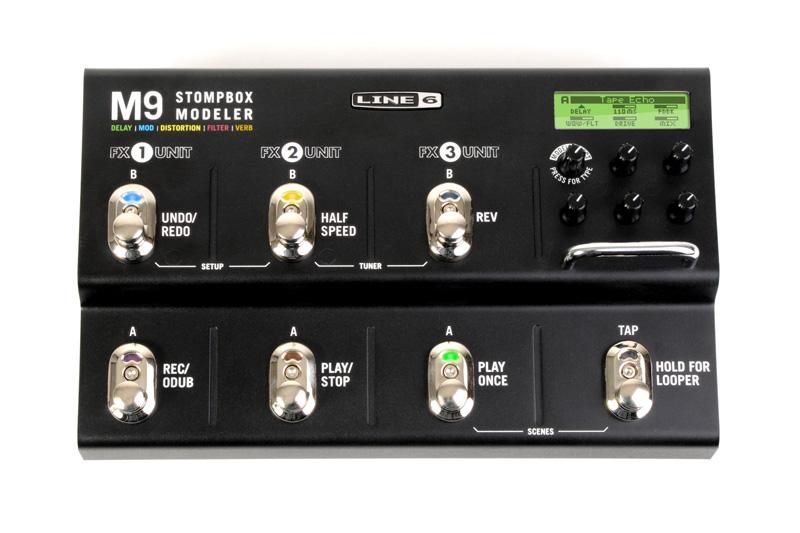 Line 6 : M9 Stompbox Modeler