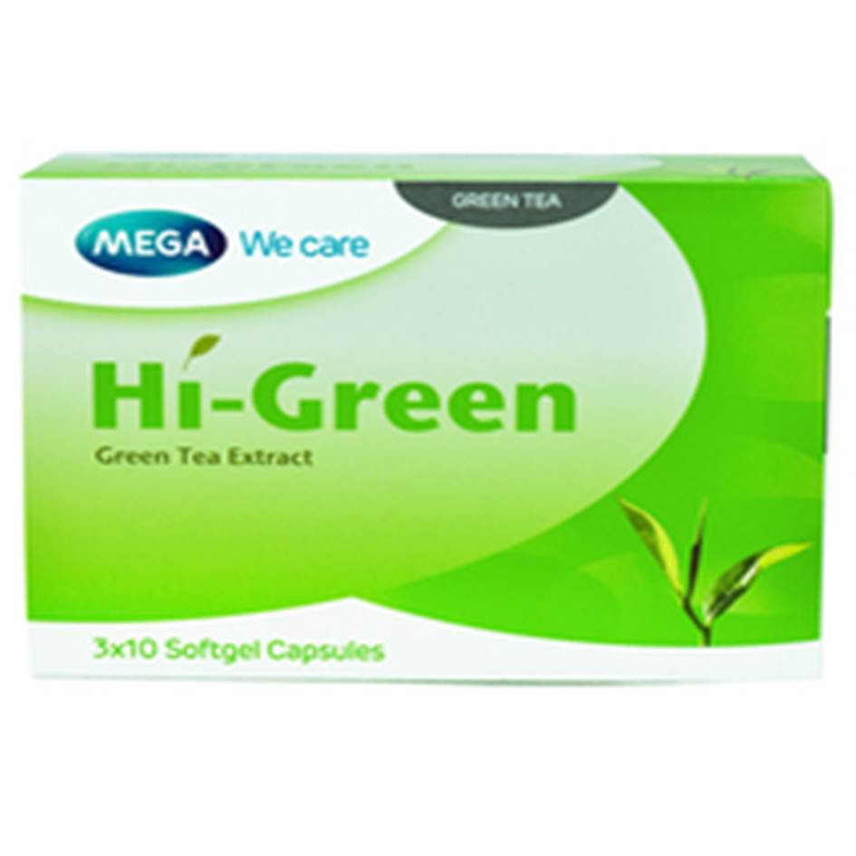 MEGA HI-GREEN 30 เม็ด