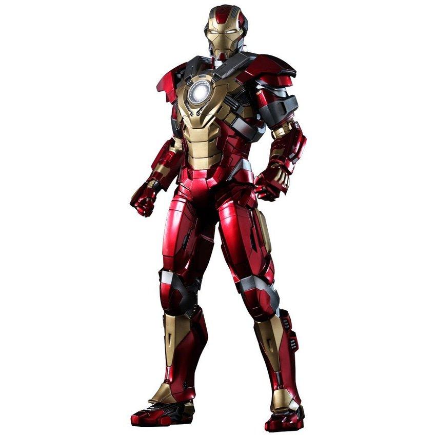 Hot Toys โมเดล ฟิกเกอร์ IRON MAN 3 HEARTBREAKER (MARK XVII) 1/6Scale.