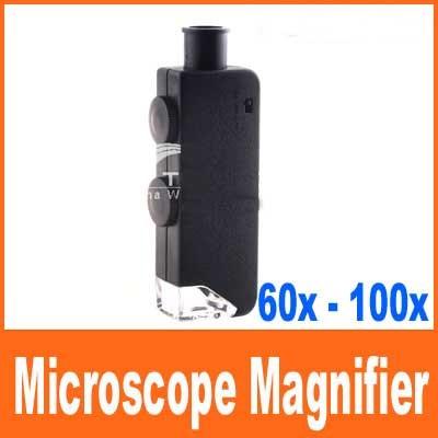 ลดล้างสต๊อก กล้องจุลทัศน์ ขนาดพกพา 60X - 100 X LEN105