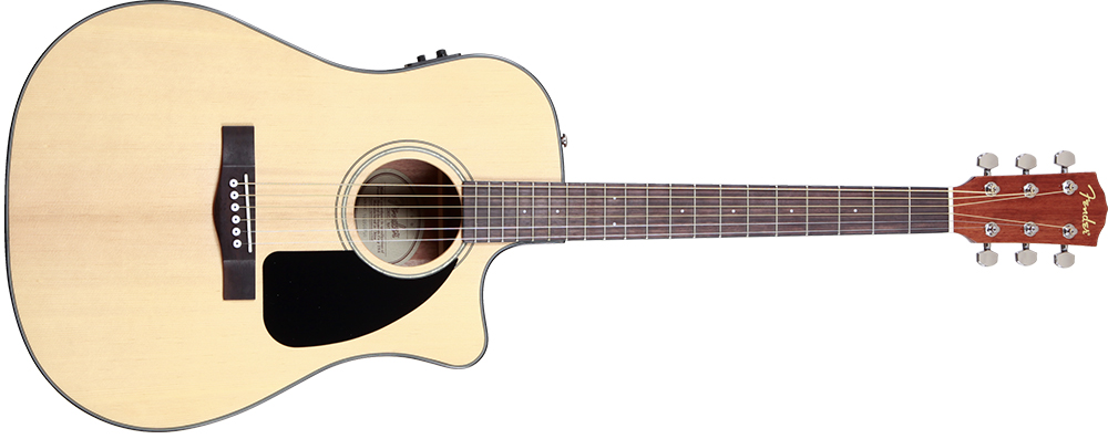 Fender Acoustic CD-60CE with Hard Case ( Fishman )