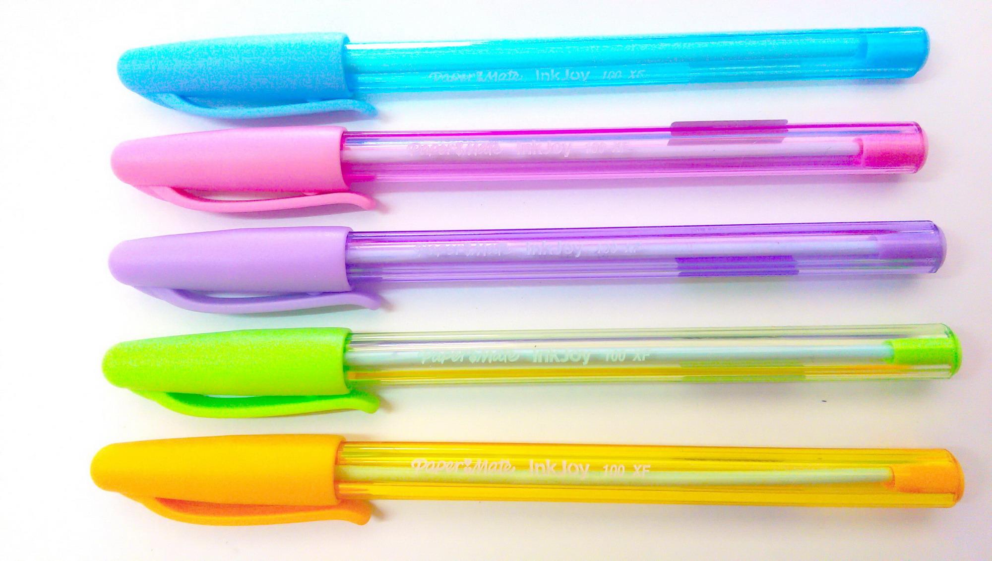 ปากกาลูกลื่น 0.5 มม. เปเป้อร์เมท Inkjoy 100 XF น้ำเงิน