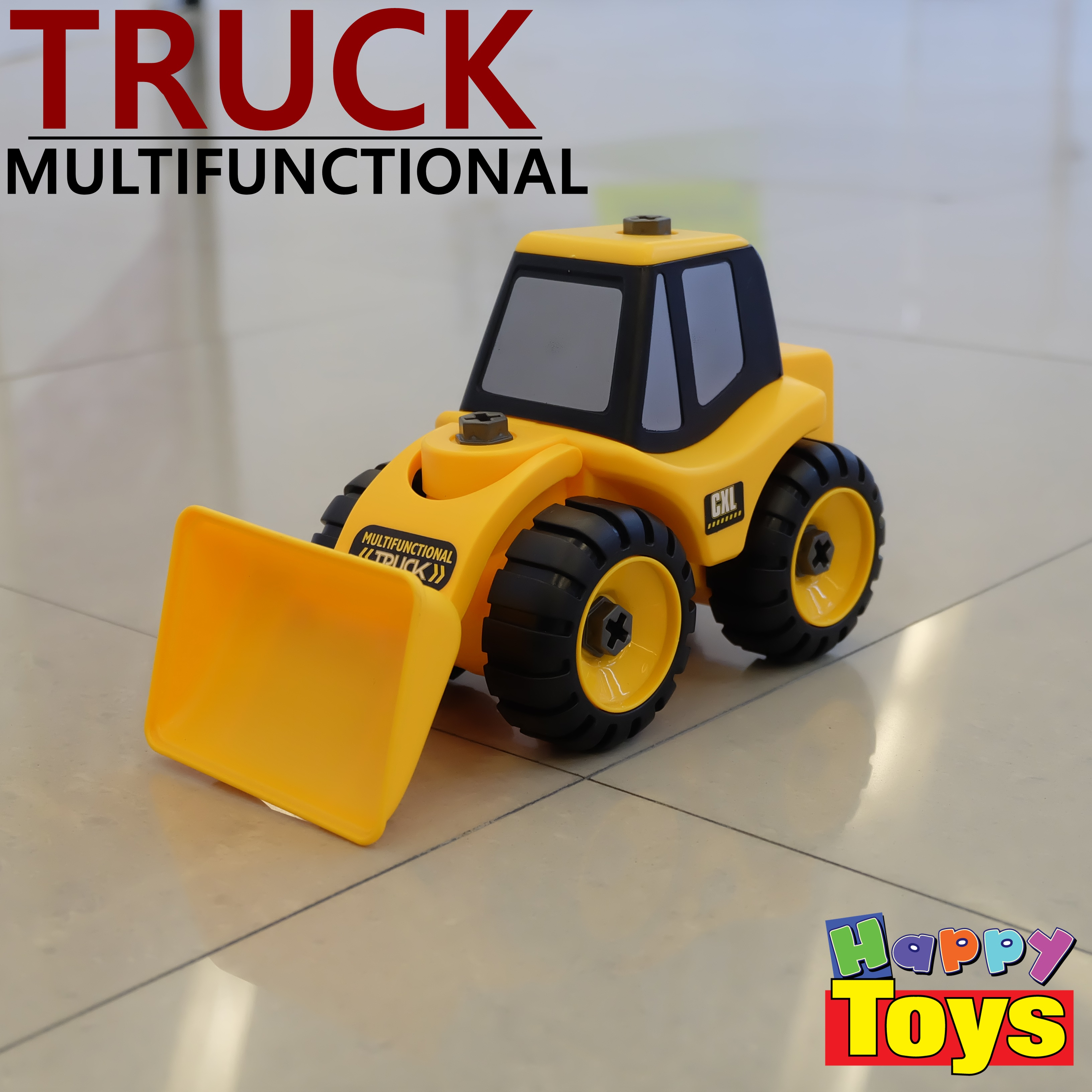 รถก่อสร้าง TRUCK รถของเล่นสำหรับเด็ก รถของเล่นฝึกพัฒนาการ