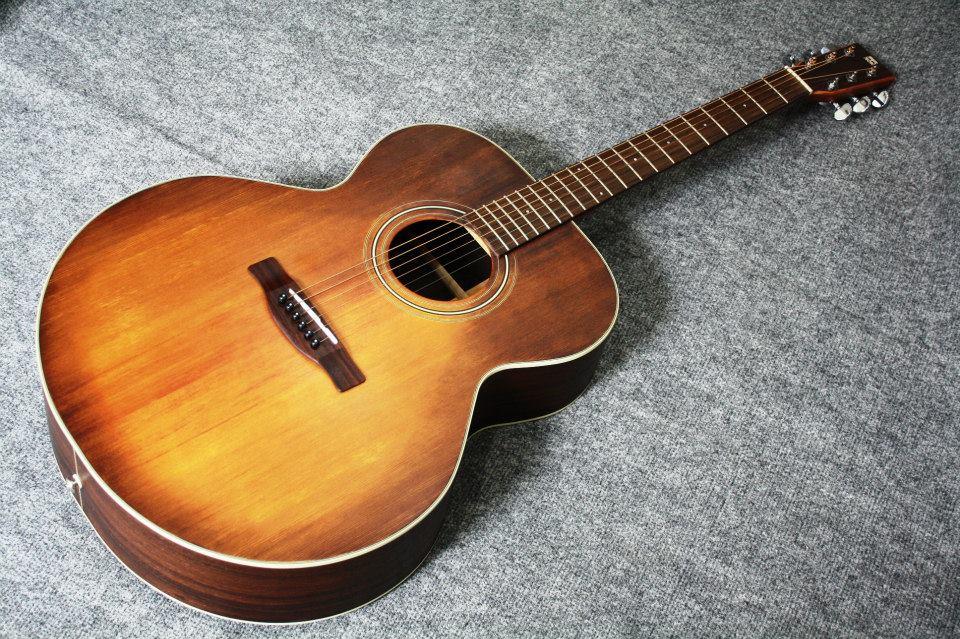 กีต้าร์โปร่ง Guitar Sen รุ่น J-2SBR Top solid spruce