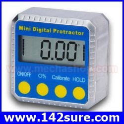 msd001 เครื่องมือวัดองศา เครื่องมือวัดมุมดิจิตอล 360องศา Digital Inclinometer Angle Gauge Meter Protractor