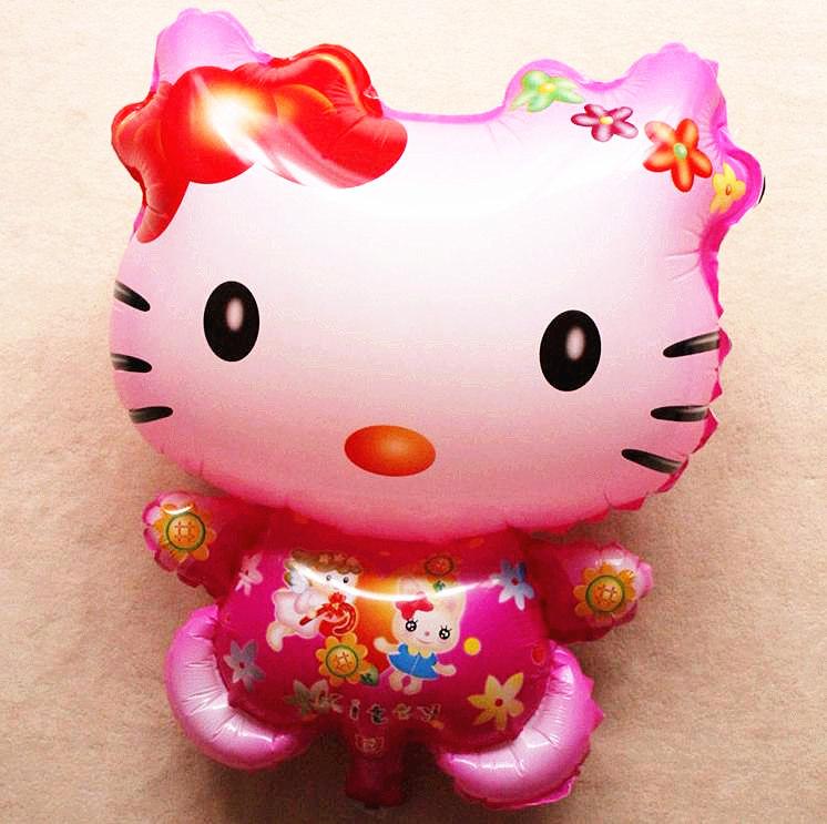 บอลลูนลายการ์ตูน Hello Kitty คิตตี้ (แพ็ค10ใบ) / Item No. TL-A010