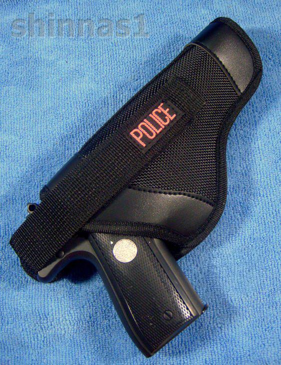 ซองปืนสำหรับปืนรีวอลเวอร์ลำกล้อง 3 นิ้ว สีดำ