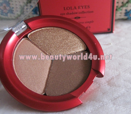 Lola trio eye shadow # gorgeous (ลดพิเศษ 50%)