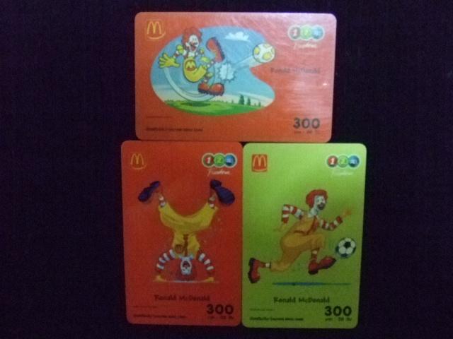 McDonald [3ใบ]