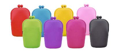 กระเป๋าซิลิโคนขนาดกลาง แนวตั้ง