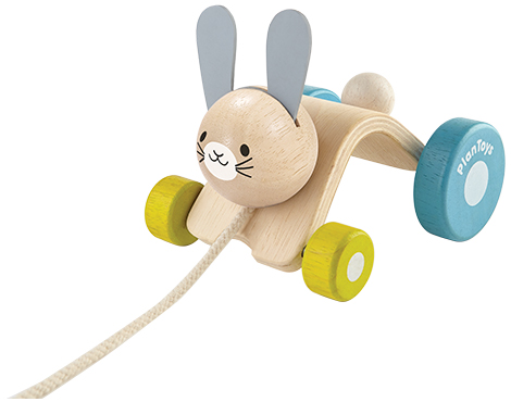 ของเล่นไม้ ของเล่นเด็ก ของเล่นเสริมพัฒนาการ Hopping Rabbit กระต่ายกระโดด (ส่งฟรี)
