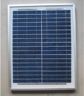 แผงโซล่าเซลล์ พลังงานแสงอาทิตย์ Poly-Crystalline Silicon Solar Cell Module 20W (มาตราฐานยุโรป IEC TUV)